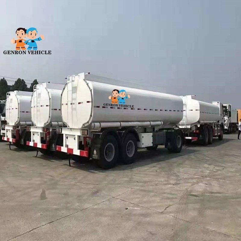 Tri Axles Emulsion Tank Trailer for Liquid Molten Sulfur
